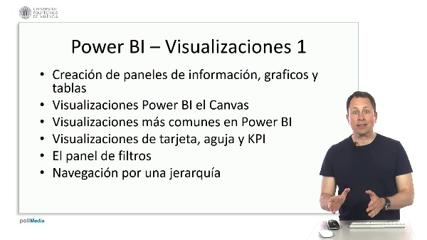 MOOC Power BI. Resumen tema visualizaciones 1