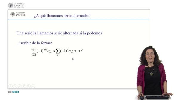 Resolución de ejercicios de series alternadas utilizando el criterio de Leibniz