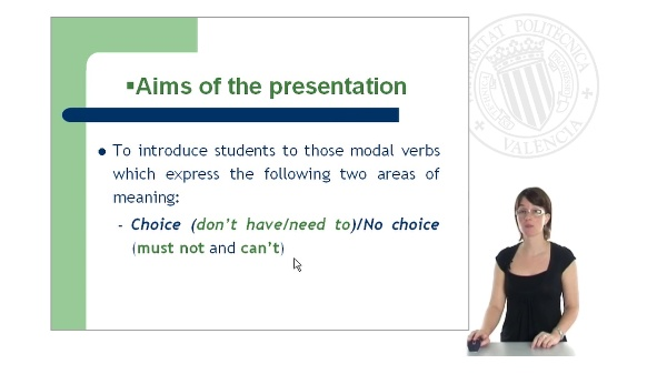 Modal verbs - Part II