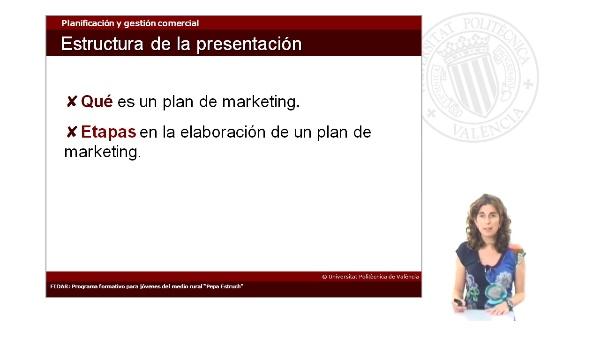 Planificación y gestión comercial