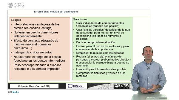 Evaluación del desempeño de los trabajadores: Sesgos