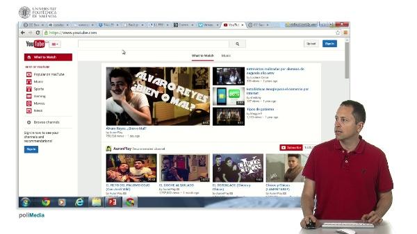 Buscando contenido libre: Video