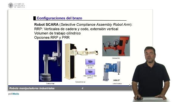 RMIs - otras configuraciones del brazo