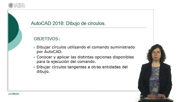 AutoCAD 2018: Dibujo de círculos