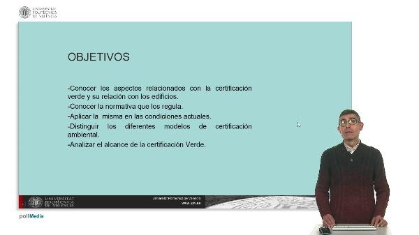 Certificación VERDE.