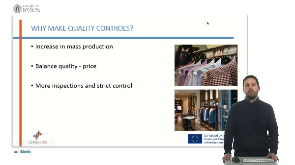 Quality management in the company.