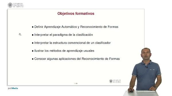 Aprendizaje automático y reconocimiento de formas