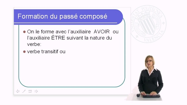 Tiempos verbales - Le passé composé