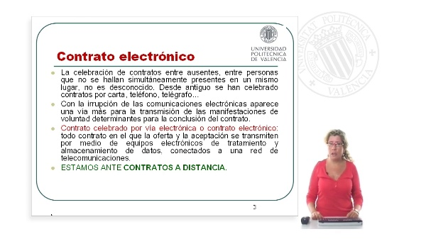 El contrato electrónico