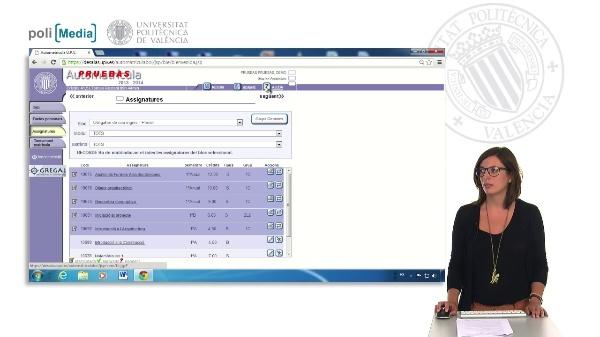 Automatícul Grau: Matriculació d'assignatures