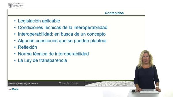 La interoperabilidad en la Administracion Electronica