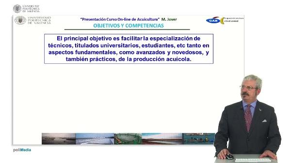 Presentación del curso On-Line de Acuicultura