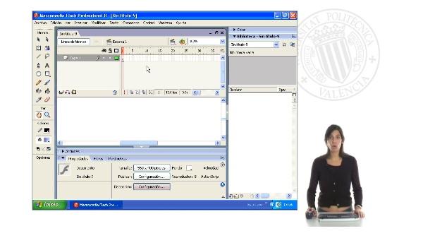 Creación y edición de objetos en Flash