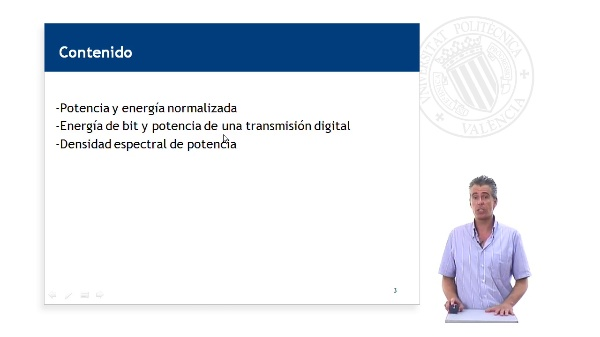 Densidad espectral de potencia de una transmisión digital