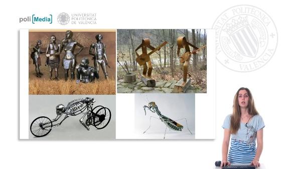 Experiencia práctica en herramientas y procedimentos de la producción artística. Escultura