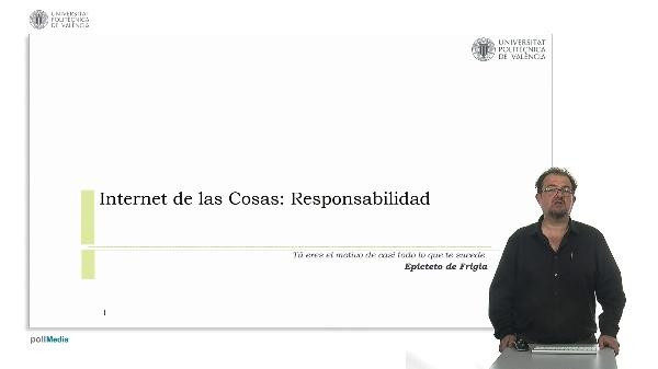 Internet de las Cosas: Responsabilidad.