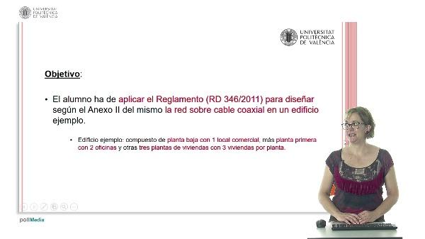 Ejemplo de Diseño de una red sobre cable coaxial según ANEXO II del Real Decreto 346/2011