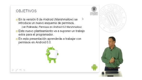 Trabajando con permisos en  Android 6.0 Marshmallow