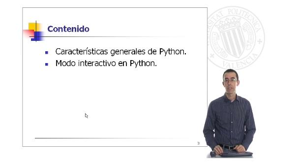 Introducción al lenguaje Python