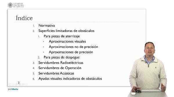 MOOC Diseño aeropuertos según OACI. Resumen módulo 3. Servidumbres de un aeropuerto