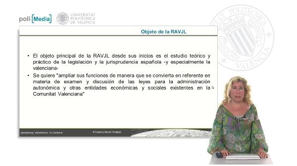 La Academia Valencia de Jurisprudencia y Legislación