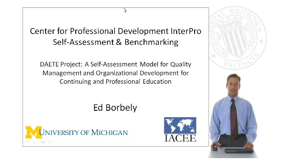 Center for Professional Development InterPro Self-Assessment & Benchmarking