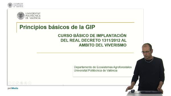 Principios básicos de la Gestión Integrada de Plagas (GIP)