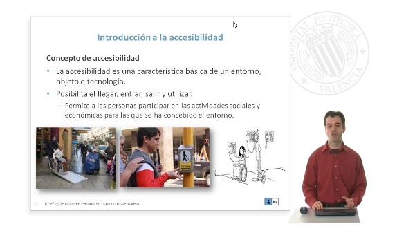 Factores humanos en los entornos: Accesibilidad