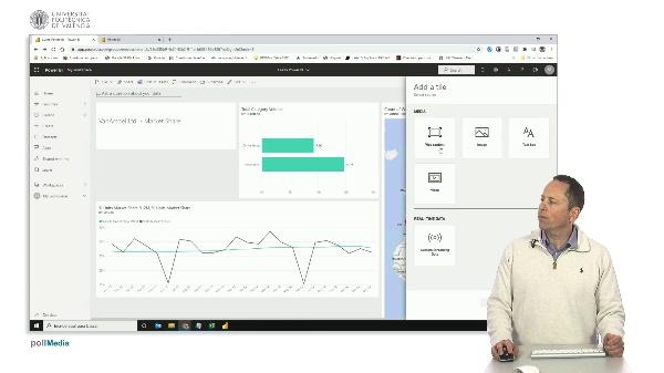MOOC Power BI. Mejorar el diseño de un panel de datos (dashboard) en el servicio en la nube