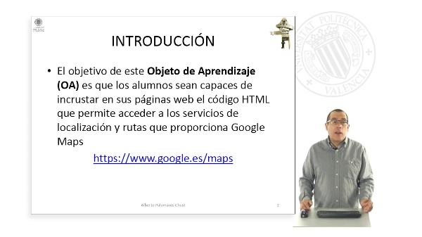 Localización y rutas ( Google MAPS )