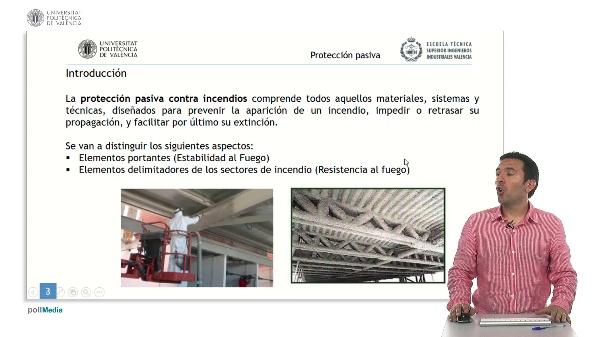Seguridad contra incendios en establecimientos industriales. Protección Pasiva