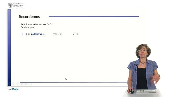 Ejemplos sencillos de relaciones binarias de equivalencia