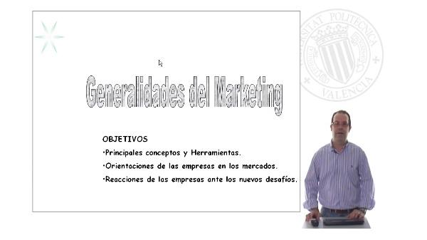 Generalidades del Marketing