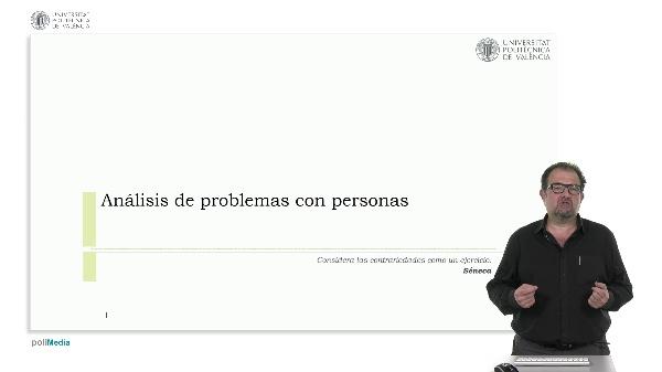 Análisis de problemas con personas