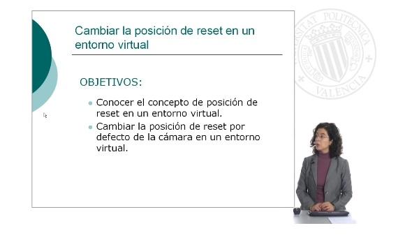 Cambiar la posición de reset en un entorno virtual