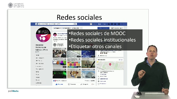 Marketing digital para cursos MOOC. Redes sociales