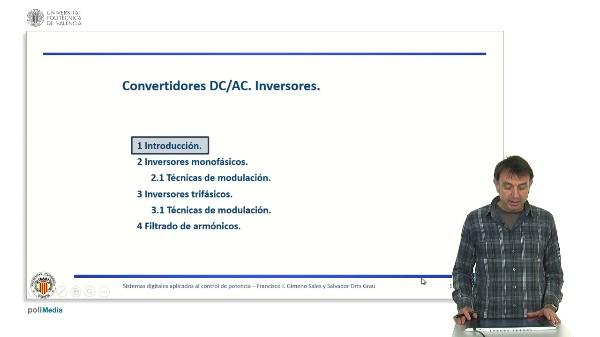 Convertidor DC/AC. Inversores. Introducción.