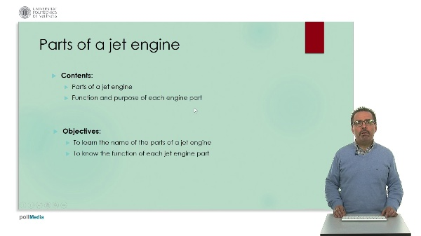 technical English: ¿parts of a jet engine¿