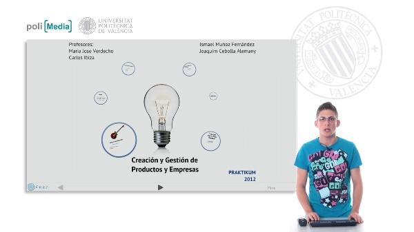Creación y Gestión de Productos y Empresas