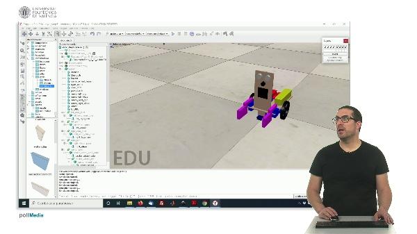 CoppeliaSim (V-REP): Creating DYOR robot (Step 5)