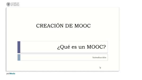 ¿Qué es un MOOC? Introducción