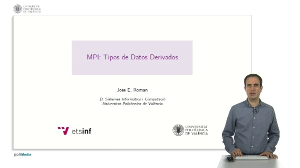 MPI: Tipos de Datos Derivados