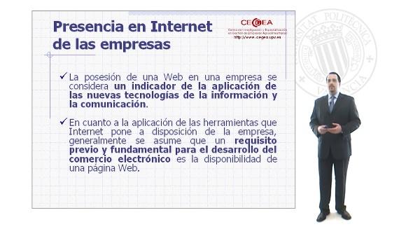 El Comercio Electrónico en Internet(I).Evaluación y Diseños de sitios Web