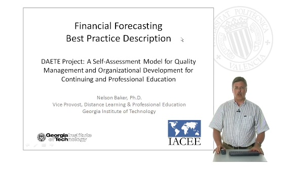 Financial Forecasting., Best Practice Description