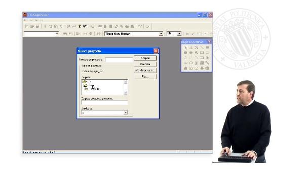 Introducción al manejo del programa SCADA CX-Supervisor