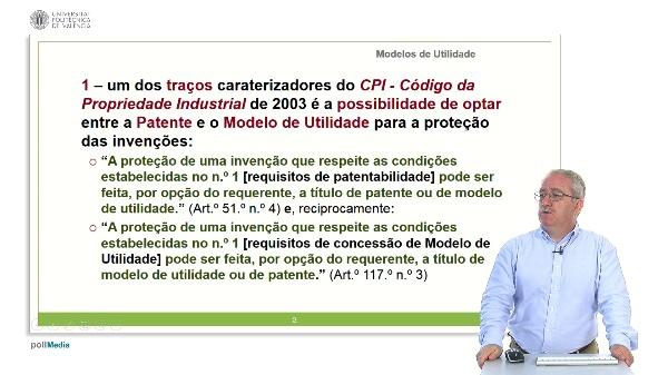 Da Opção entre Patentes e Modelos de Utilidade