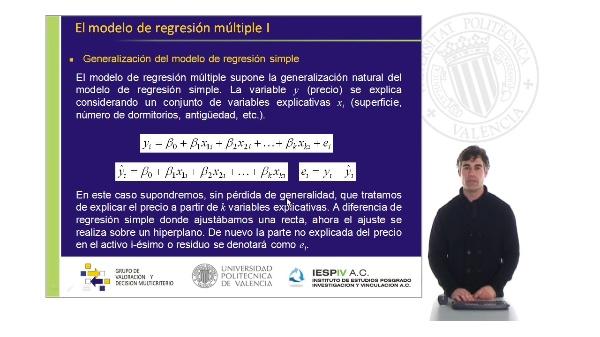 El modelo de regresión múltiple I