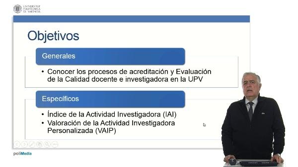 Índice de la Actividad Investigadora UPV