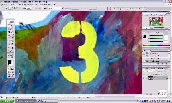 Lazo poligonal y elquilibrio de color