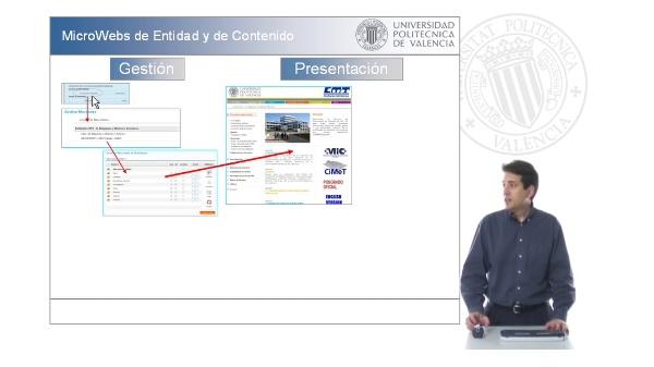 Presentación de la aplicación de MicroWebs para Departamentos